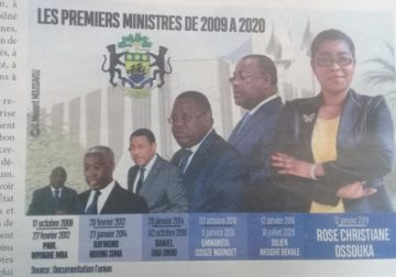 Gabon/Les Premiers ministres d'Abo/Quel bilan individuel ? : De Paul Biyoghe Mba à Rose Christiane Ossouka Raponda