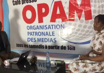 Opam : Café presse reçoit maître Paulette Oyane Ondo pour sa première émission