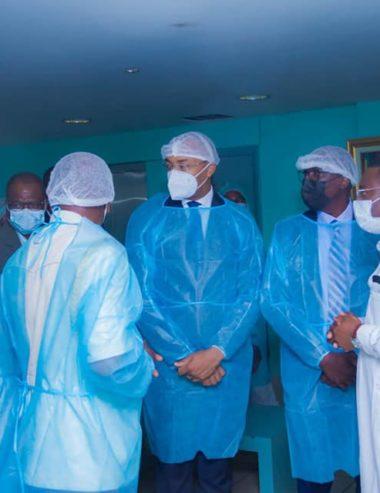 Ministère de la Santé/Lutte contre la Covid-19 : La tournée de popote du ministre Dr Guy Patrick Obiang Ndong