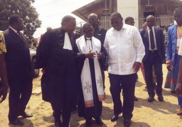 Eglise évangélique du Gabon/Paroisse des 9 étages de Libreville : Des bricoles pour le pasteur Jean Jacques Ndong Ekouaghe