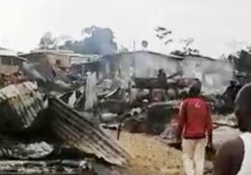 Province de l'Ogooué-Lolo/Commune de Lastourville, District de Ndangui : La désolation via un brasier militaire ?